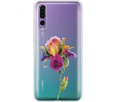 Силиконовый чехол BoxFace Huawei P20 Pro Iris (36195-cc31)