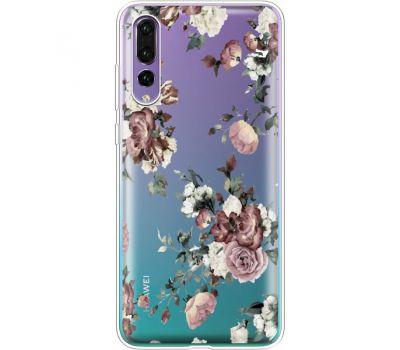 Силиконовый чехол BoxFace Huawei P20 Pro Roses (36195-cc41)