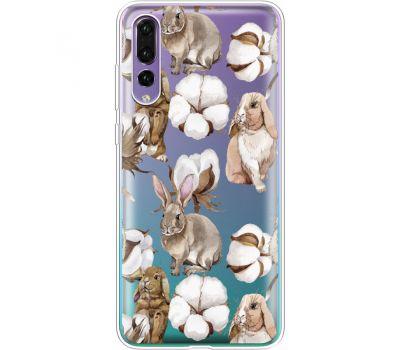 Силиконовый чехол BoxFace Huawei P20 Pro Cotton and Rabbits (36195-cc49)