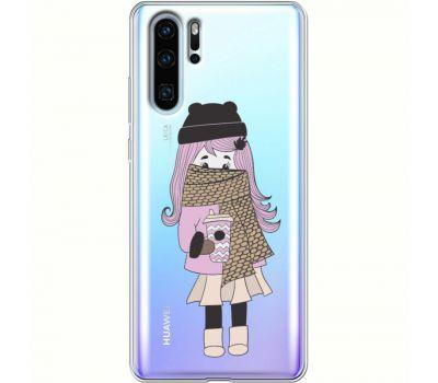 Силиконовый чехол BoxFace Huawei P30 Pro Winter Morning Girl (36856-cc61)