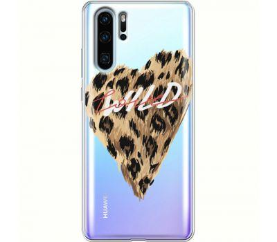 Силиконовый чехол BoxFace Huawei P30 Pro Wild Love (36856-cc64)