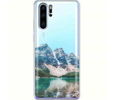 Силиконовый чехол BoxFace Huawei P30 Pro Blue Mountain (36856-cc68)