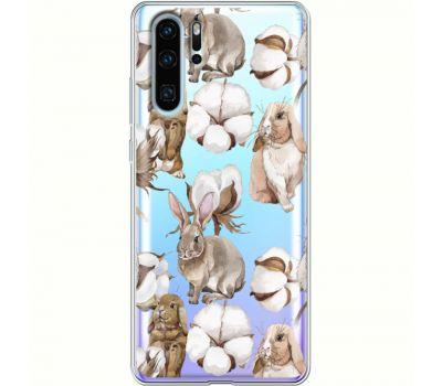 Силиконовый чехол BoxFace Huawei P30 Pro Cotton and Rabbits (36856-cc49)