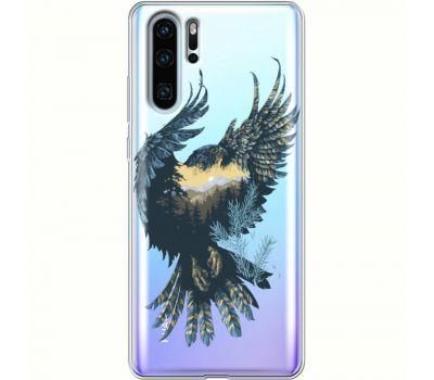 Силиконовый чехол BoxFace Huawei P30 Pro Eagle (36856-cc52)