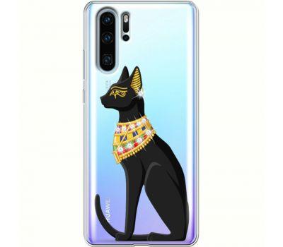 Силиконовый чехол BoxFace Huawei P30 Pro Egipet Cat (936856-rs8)