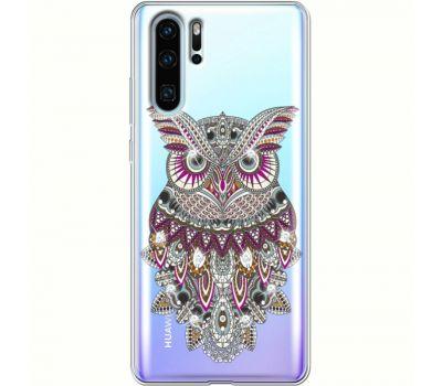 Силиконовый чехол BoxFace Huawei P30 Pro Owl (936856-rs9)