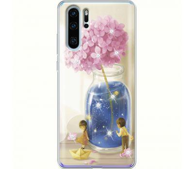 Силиконовый чехол BoxFace Huawei P30 Pro Little Boy and Girl (936856-rs18)
