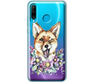 Силиконовый чехол BoxFace Huawei P30 Lite Winking Fox (36872-cc13)