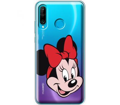 Силиконовый чехол BoxFace Huawei P30 Lite Minnie Mouse (36872-cc19)
