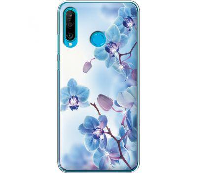 Силиконовый чехол BoxFace Huawei P30 Lite Orchids (936872-rs16)