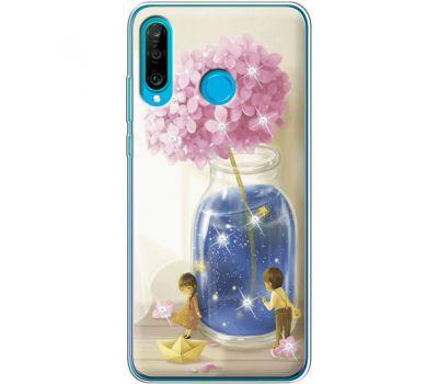 Силиконовый чехол BoxFace Huawei P30 Lite Little Boy and Girl (936872-rs18)