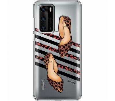 Силиконовый чехол BoxFace Huawei P40 Love Beauty (39747-cc65)