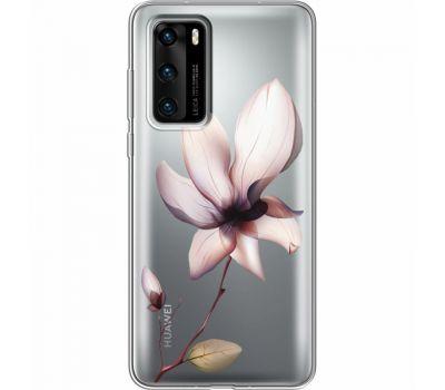 Силиконовый чехол BoxFace Huawei P40 Magnolia (39747-cc8)