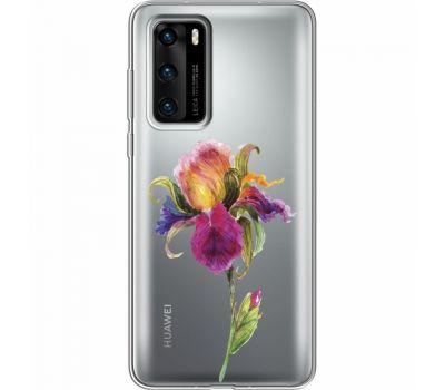 Силиконовый чехол BoxFace Huawei P40 Iris (39747-cc31)