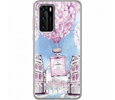 Силиконовый чехол BoxFace Huawei P40 Perfume bottle (939747-rs15)