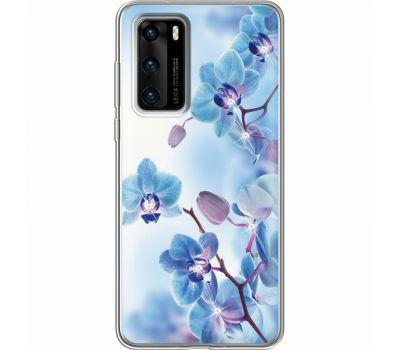 Силиконовый чехол BoxFace Huawei P40 Orchids (939747-rs16)
