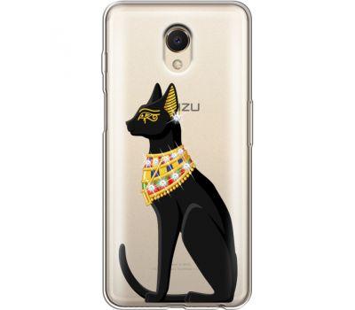 Силиконовый чехол BoxFace Meizu M6s Egipet Cat (935011-rs8)