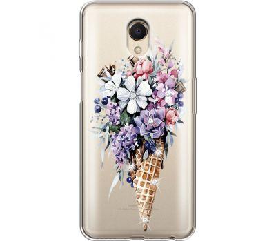 Силиконовый чехол BoxFace Meizu M6s Ice Cream Flowers (935011-rs17)