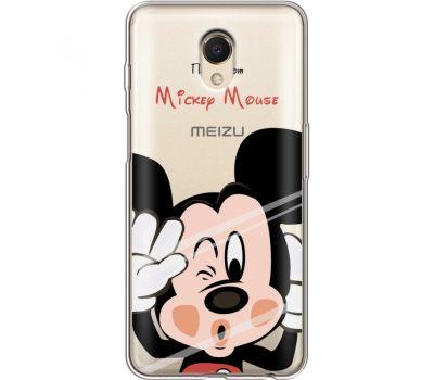 Силиконовый чехол BoxFace Meizu M6s Mister M (35011-cc58)