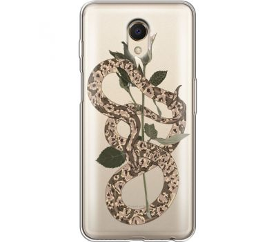 Силиконовый чехол BoxFace Meizu M6s Glamor Snake (35011-cc67)