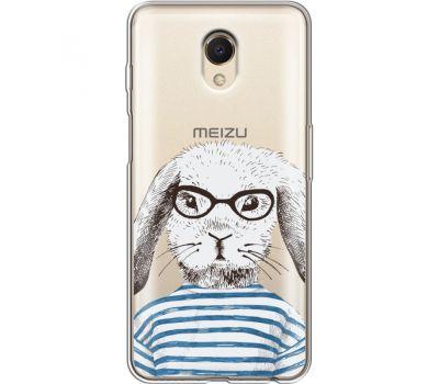 Силиконовый чехол BoxFace Meizu M6s MR. Rabbit (35011-cc71)