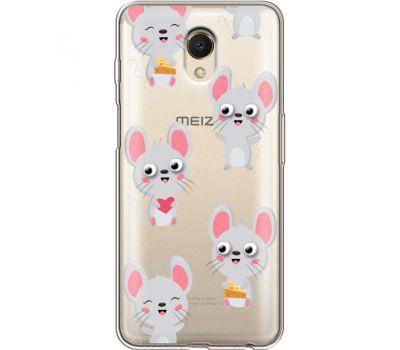 Силиконовый чехол BoxFace Meizu M6s с 3D-глазками Mouse (35011-cc76)