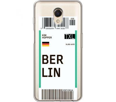 Силиконовый чехол BoxFace Meizu M6s Ticket Berrlin (35011-cc80)