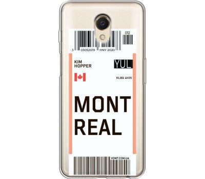 Силиконовый чехол BoxFace Meizu M6s Ticket Monreal (35011-cc87)