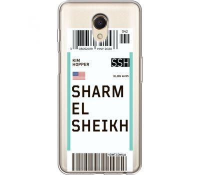 Силиконовый чехол BoxFace Meizu M6s Ticket Sharmel Sheikh (35011-cc90)