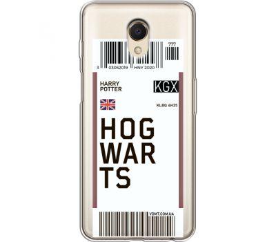 Силиконовый чехол BoxFace Meizu M6s Ticket Hogwarts (35011-cc91)