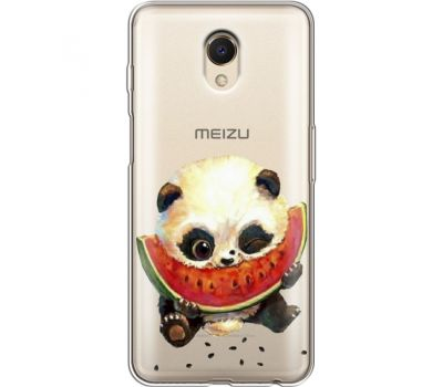 Силиконовый чехол BoxFace Meizu M6s Little Panda (35011-cc21)