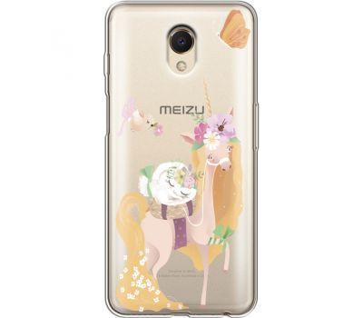 Силиконовый чехол BoxFace Meizu M6s Uni Blonde (35011-cc26)