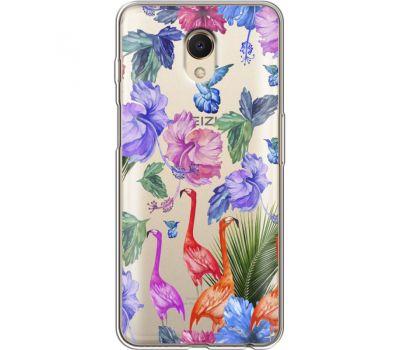 Силиконовый чехол BoxFace Meizu M6s Flamingo (35011-cc40)