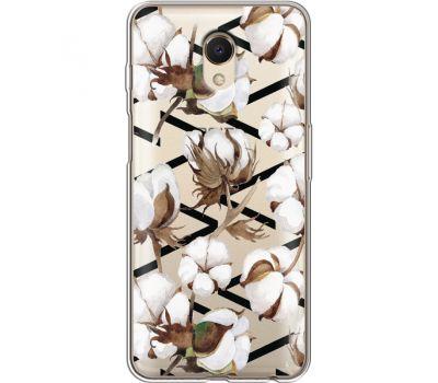 Силиконовый чехол BoxFace Meizu M6s Cotton flowers (35011-cc50)