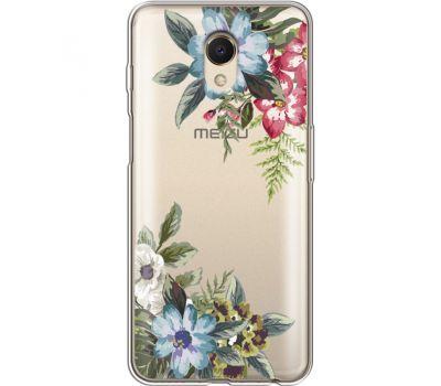 Силиконовый чехол BoxFace Meizu M6s Floral (35011-cc54)