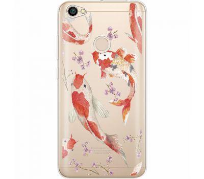 Силиконовый чехол BoxFace Xiaomi Redmi Note 5A Prime Japanese Koi Fish (35076-cc3)