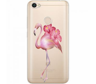 Силиконовый чехол BoxFace Xiaomi Redmi Note 5A Prime Floral Flamingo (35076-cc12)