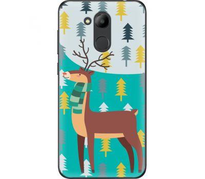 Силиконовый чехол BoxFace Huawei Honor 6C Pro Foresty Deer (33132-up2247)