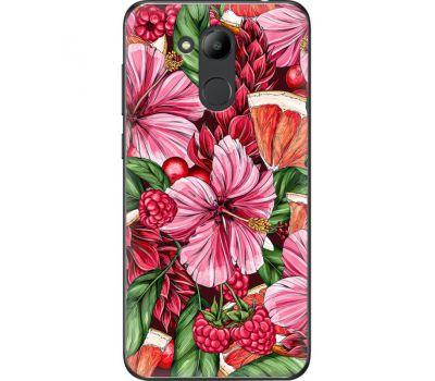 Силиконовый чехол BoxFace Huawei Honor 6C Pro Tropical Flowers (33132-up2416)