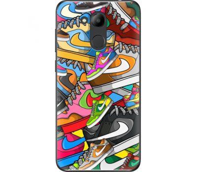 Силиконовый чехол BoxFace Huawei Honor 6C Pro Sneakers (33132-up2423)