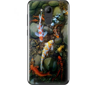 Силиконовый чехол BoxFace Huawei Honor 6C Pro Underwater Koi (33132-up2431)