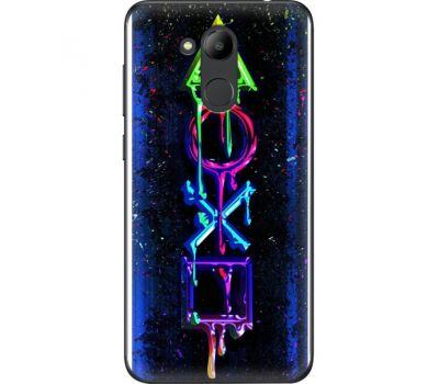 Силиконовый чехол BoxFace Huawei Honor 6C Pro Graffiti symbols (33132-up2432)