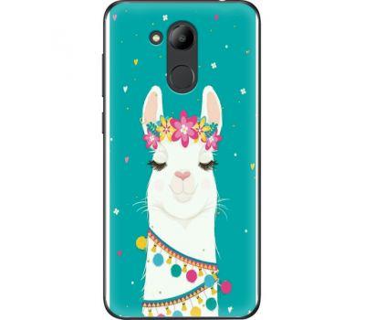 Силиконовый чехол BoxFace Huawei Honor 6C Pro Cold Llama (33132-up2435)