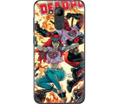 Силиконовый чехол BoxFace Huawei Honor 6C Pro Deadpool and Mary Jane (33132-up2454)