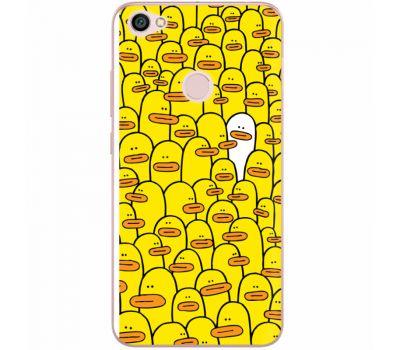 Силиконовый чехол BoxFace Xiaomi Redmi Note 5A Prime Yellow Ducklings (32183-up2428)