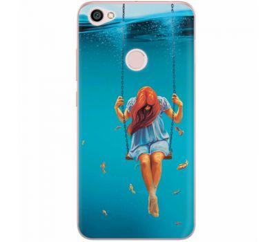 Силиконовый чехол BoxFace Xiaomi Redmi Note 5A Prime Girl In The Sea (32183-up2387)