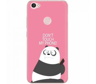 Силиконовый чехол BoxFace Xiaomi Redmi Note 5A Prime Dont Touch My Phone Panda (32183-up2425)