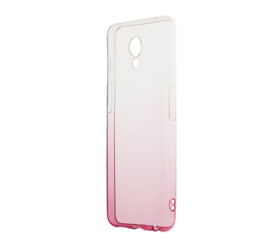 Чехол для Meizu M6s Gradient Design розово белый 197402