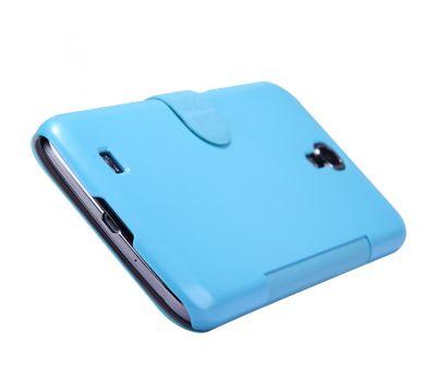 Кожаный чехол (книжка) Nillkin Fresh Series для Samsung i9200 Galaxy Mega 6.3 черный 2644