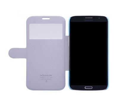 Кожаный чехол (книжка) Nillkin Fresh Series для Samsung i9200 Galaxy Mega 6.3 черный 2645